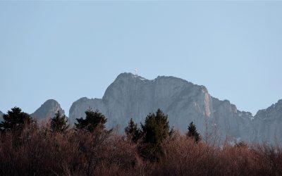 Rakouská hora Traunstein je ideální na výstup téměř pro každého horolezce